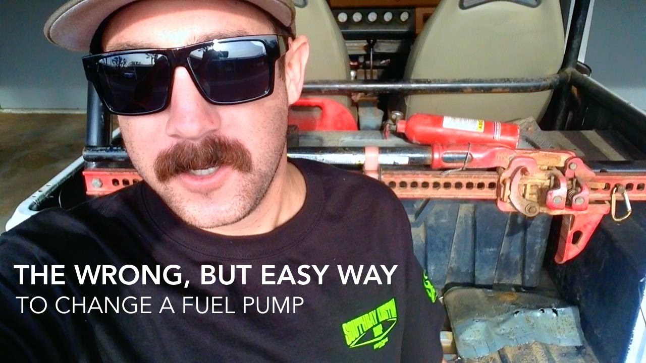 Cutting a Fuel Pump Access Panel