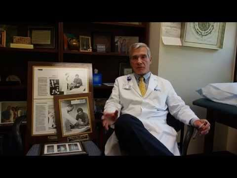What motivated Dr. Lloyd Hey to become a surgeon?  The story started 36 years ago this day.