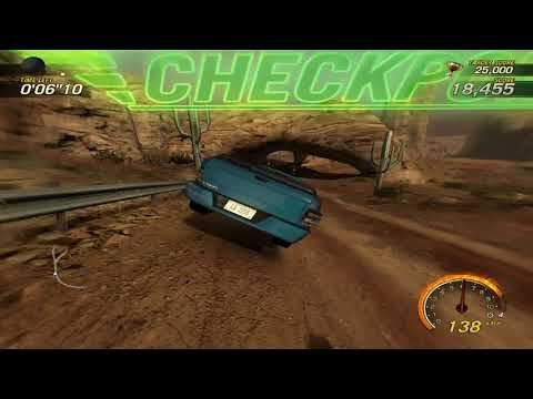 flatout 3 : race 13  (time vs bomb) with my car of canyon