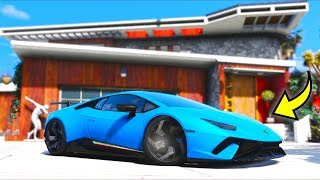 So I stole Jake Paul's Lambo from his house!! (GTA 5 Mods Gameplay)