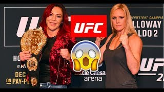 Holm Vs Cyborg Promo - UFC 219 -  SB MMA