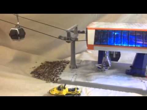 model ski lift youtube rh youtube com LEGO Ski Lift Model toy chair lift