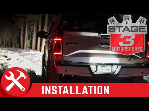 2011-2017 F150 Diode Dynamics LED License Plate Lights Install