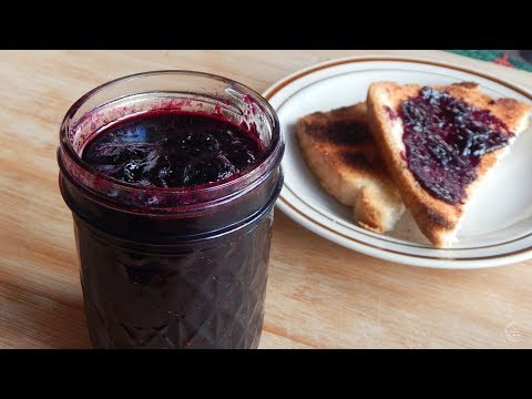 How To Make Blueberry Jam | Small Batch Recipe | The Sweetest Journey