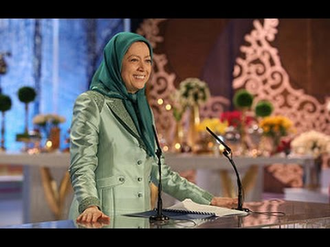 MARYAM RAJAVI'S SPEECH ON NOWRUZ IN THE PMOI GATHERING