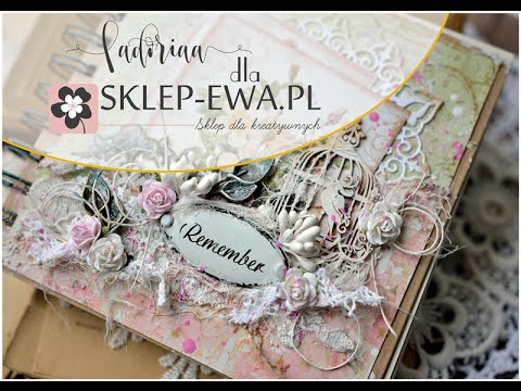 Shabby Chic cover - video tutorial