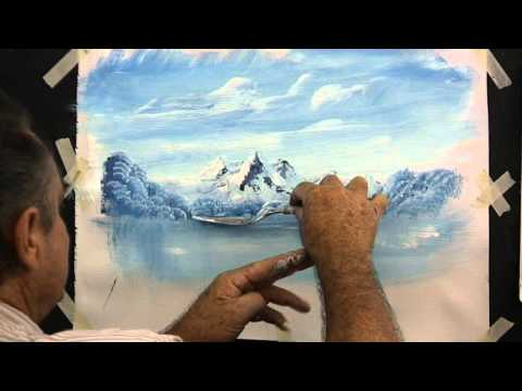 How To Paint Snow Covered Mountains With Acrylics