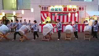 八王子市小宮町のお祭り 一番太鼓