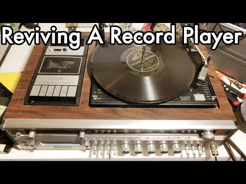 Vintage Zenith Record Player / Radio / 8-Track / Casette : No 78rpm so kinda useless