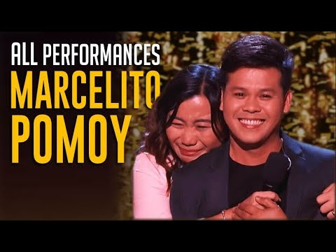 Marcelito Pomoy All Performances on America's Got Talent Champions