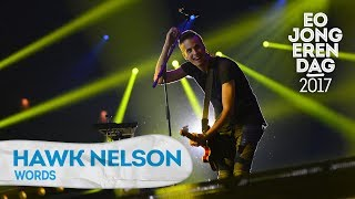 hawk nelson words eojd 2017