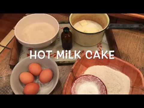 HOT MILK CAKE (DEPRESSION ERA-STYLE CAKE RECIPE)