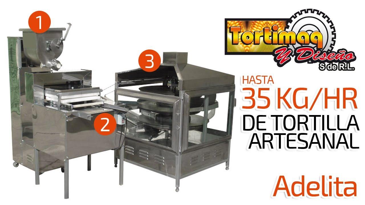 Máquinas Tortilladoras Tortimaq Y Diseño