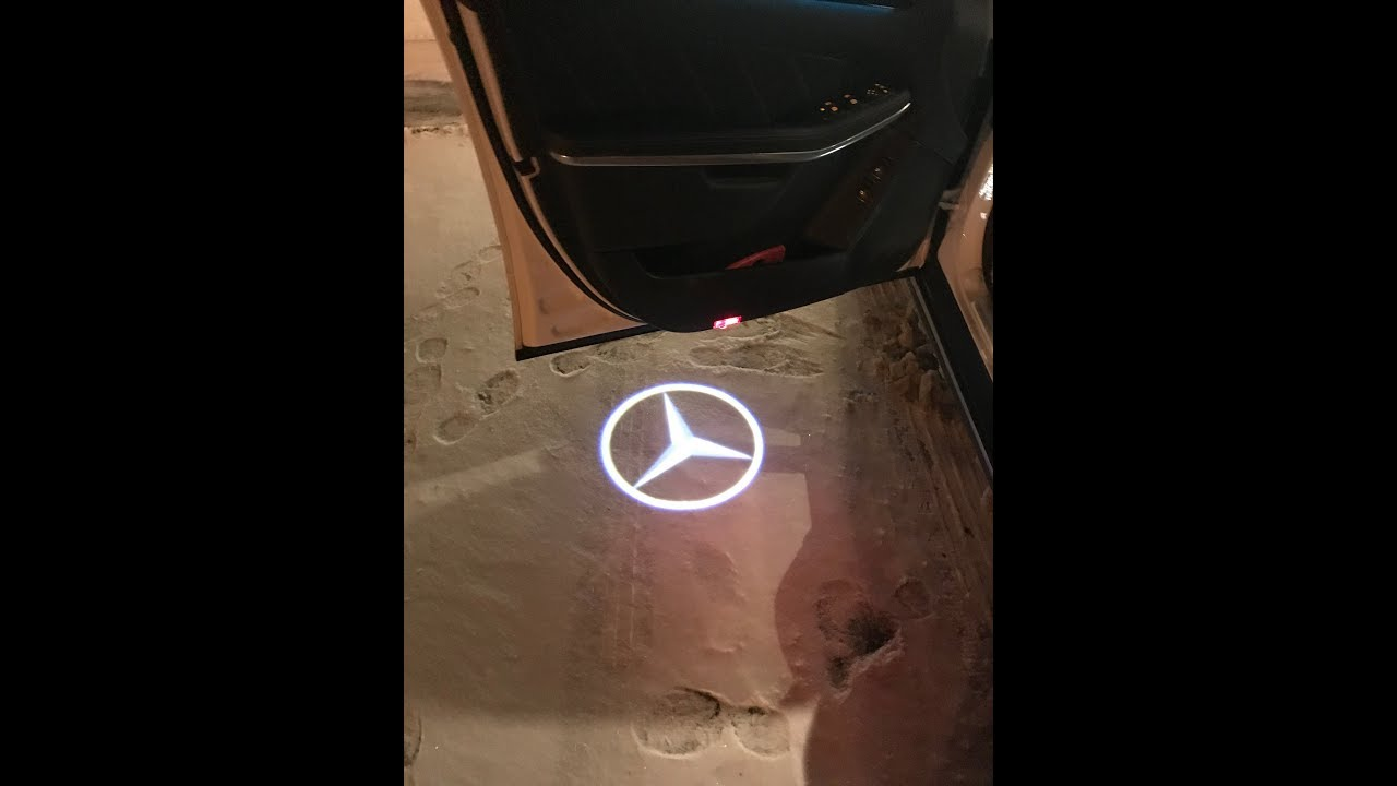 Diy Mercedes Gl 350 Projector Door Light Installation