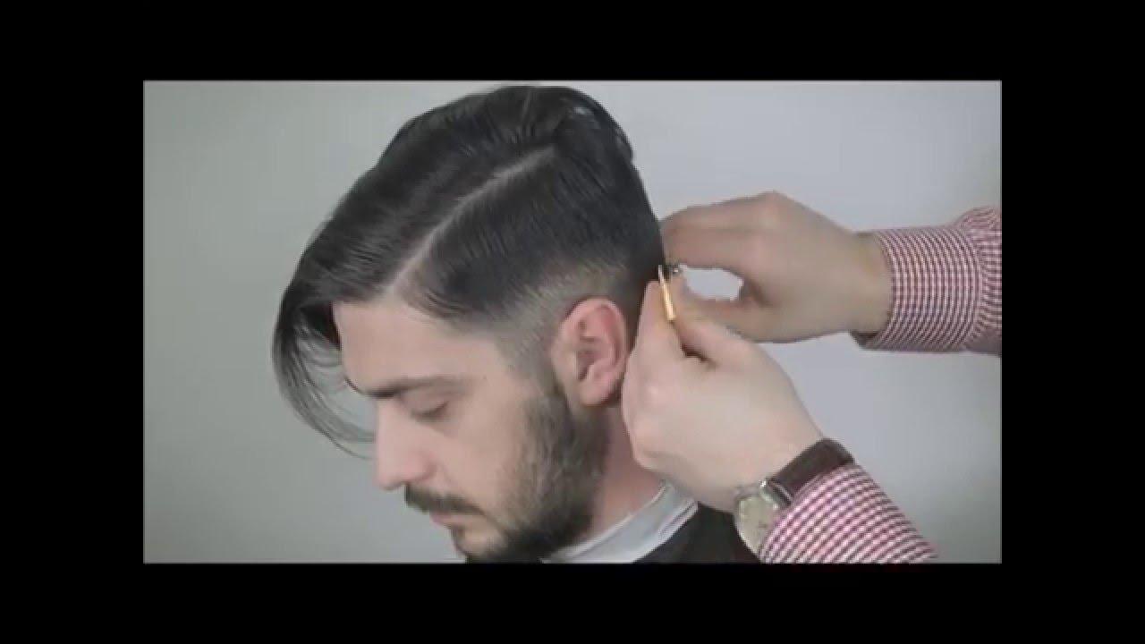 Scissor Over Comb Man Haircut Catalin Stanescu Youtube