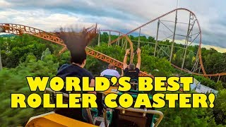 Worlds Best Roller Coaster! Expedition GeForce! Back Seat View! Holiday Park Germany