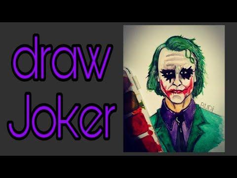 Рисуем Джокера