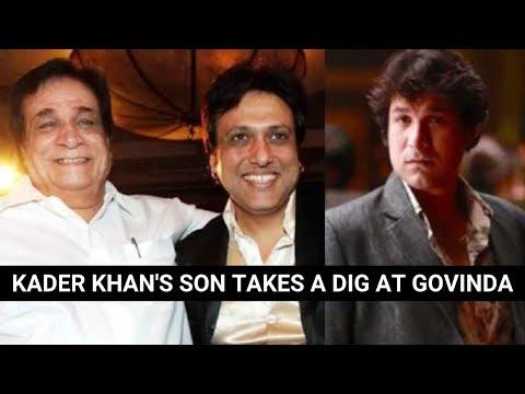 Kader Khan's son Sarfaraz reacts on Govinda's 'father-figure' comment Mp3