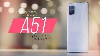 Обзор Samsung Galaxy A51 - есть нюанс. [4k]