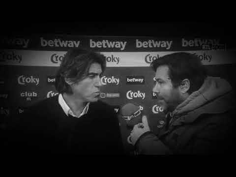 Sá Pinto em flash interview hilariante!