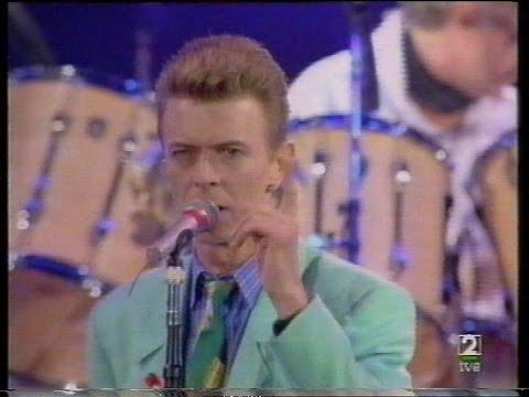 David Bowie en el Homenaje a Freddie Mercury
