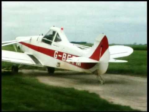 Boston Aerodrome,base of Lincs Aerial Spraying Company