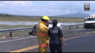 Mueren directora y subdirectora de Seguridad Pública de Santa Ana Maya en accidente carretero