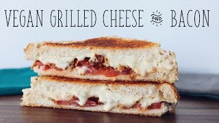 EASY Homemade Vegan Cheese & Bacon Sandwich Recipe