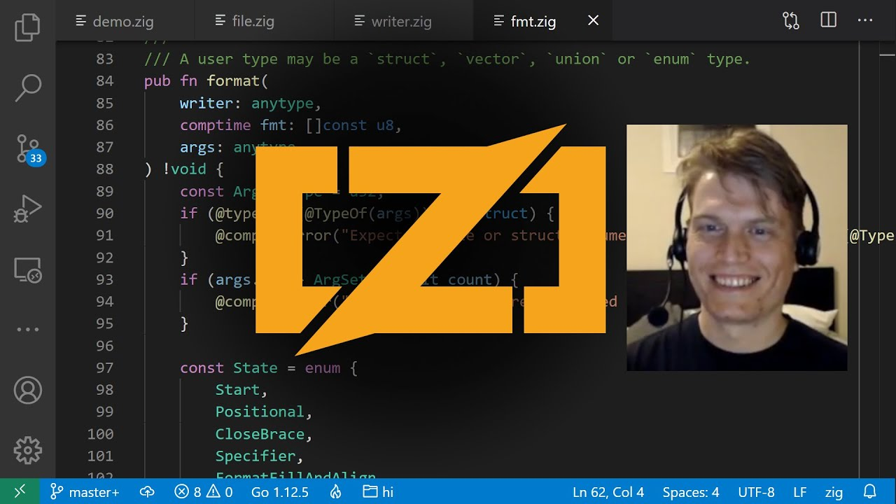 Interview with Zig language creator Andrew Kelley thumbnail