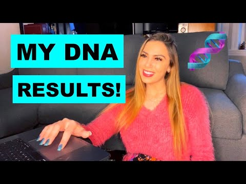 MY DNA TEST RESULTS!! Hispanic? Asian?