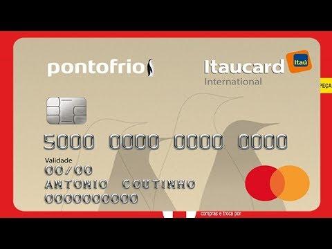 Cartao Ponto Frio Mastercard Internacional Sera Que E Bom Youtube