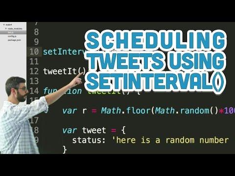 Node js Twitter Bots | Daniel Shiffman