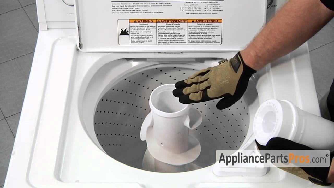 Kenmore Washer Repair >> Washer Agitator Repair Kit, Short Cam (part #285809) - How To Replace - YouTube