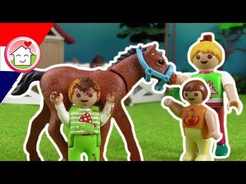playmobil filmpje nederlands het toernooi op de paardenboerderij