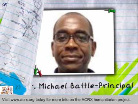 Gulfport Central Middle School Receive Tribute & Medicine Help By Charles Myrick of ACRX