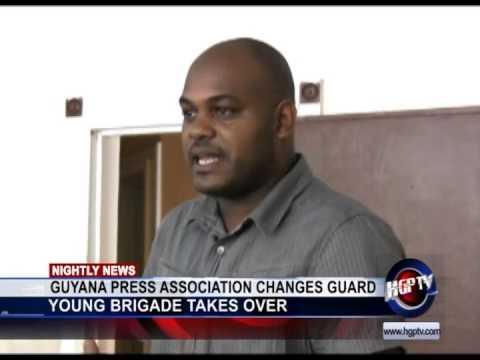 GUYANA PRESS ASSOCIATION CHANGES GUARD