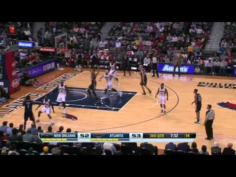 New Orleans Pelicans vs Atlanta Hawks | March 21, 2014 | NBA 2013-14 Season