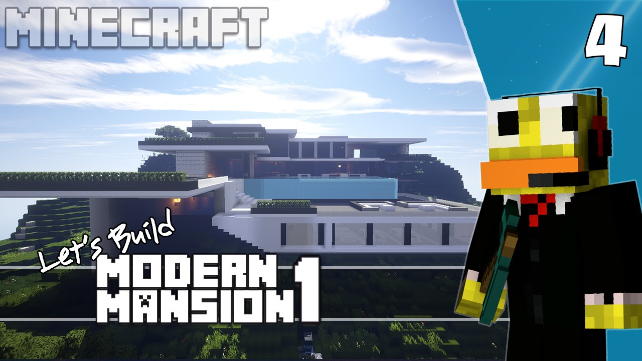 sizzial how to build a modern mansion