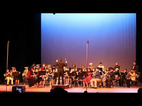 MARY HOGE MIDDLE SCHOOL 2018 CHRISTMAS BAND CONCERT