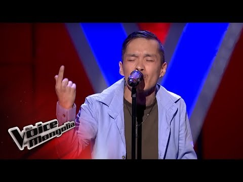 """Magsarjav.E - """"Without You"""" - Blind Audition - The Voice of Mongolia 2018"""