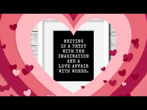 Valentine for Writers