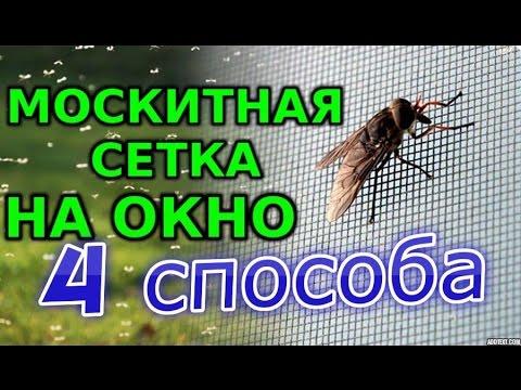 Москитная сетка своими руками от 100 рублей  4 СПОСОБА!