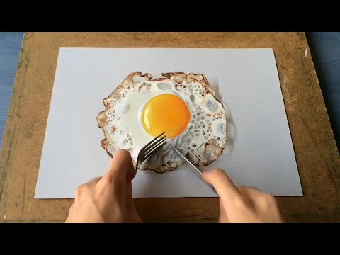 These mind-blowing drawings look like real household objects.