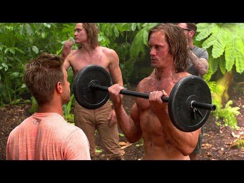 Alexander Skarsgard Tarzan Workout (Behind the Scenes) Blu-Ray Clip HD