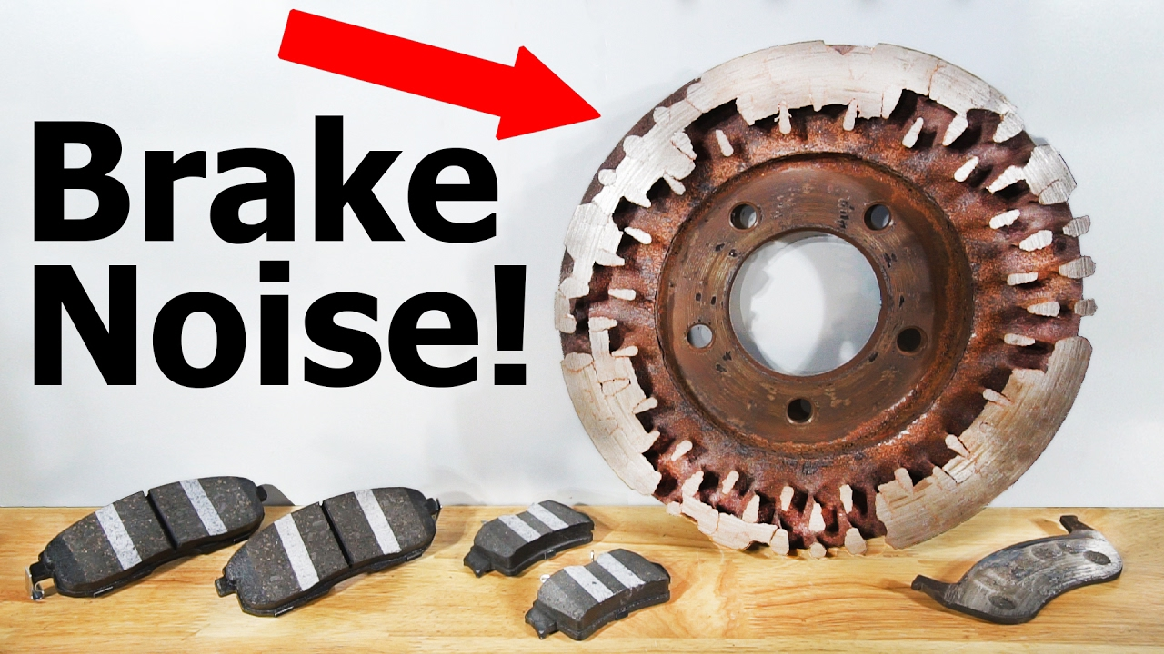 how to stop your brakes from squeaking youtube