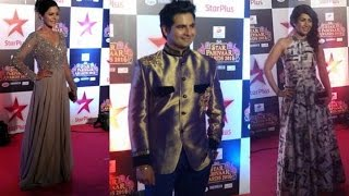 TV Celebs Dazzle at the Red Carpet of Star Parivaar Awards 2016