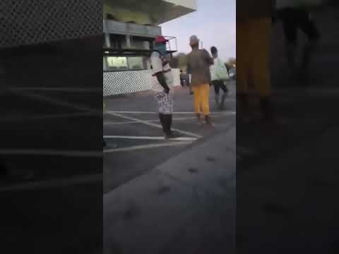 Saint Lucia Shoppers Come Out Very Early (video 1)