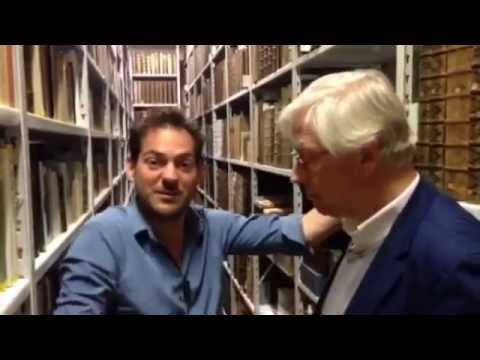 Lucas interviews prof. dr. Hans Trapman in Rotterdam