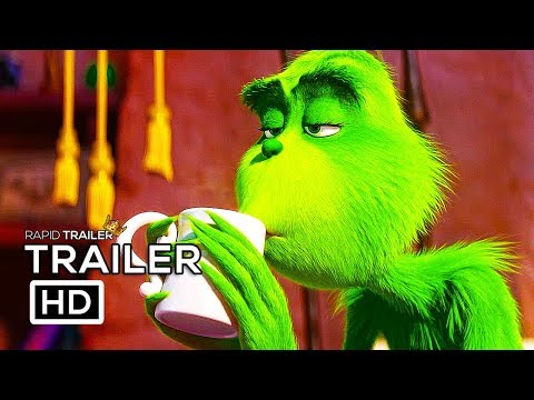THE GRINCH   2018 Benedict Cumberbatch Animated Movie HD