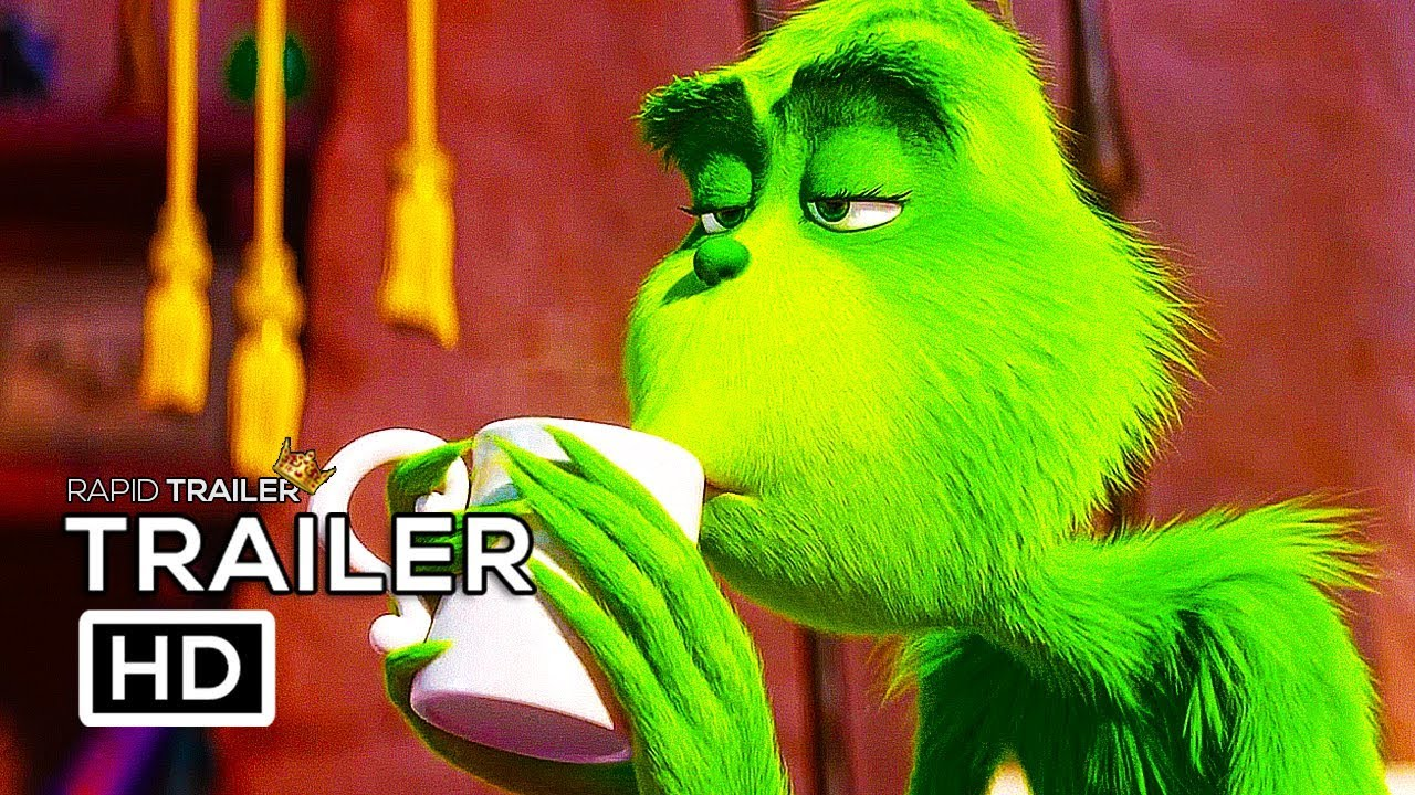 Download THE GRINCH Official Trailer (2018) Benedict Cumberbatch Animated Movie HD